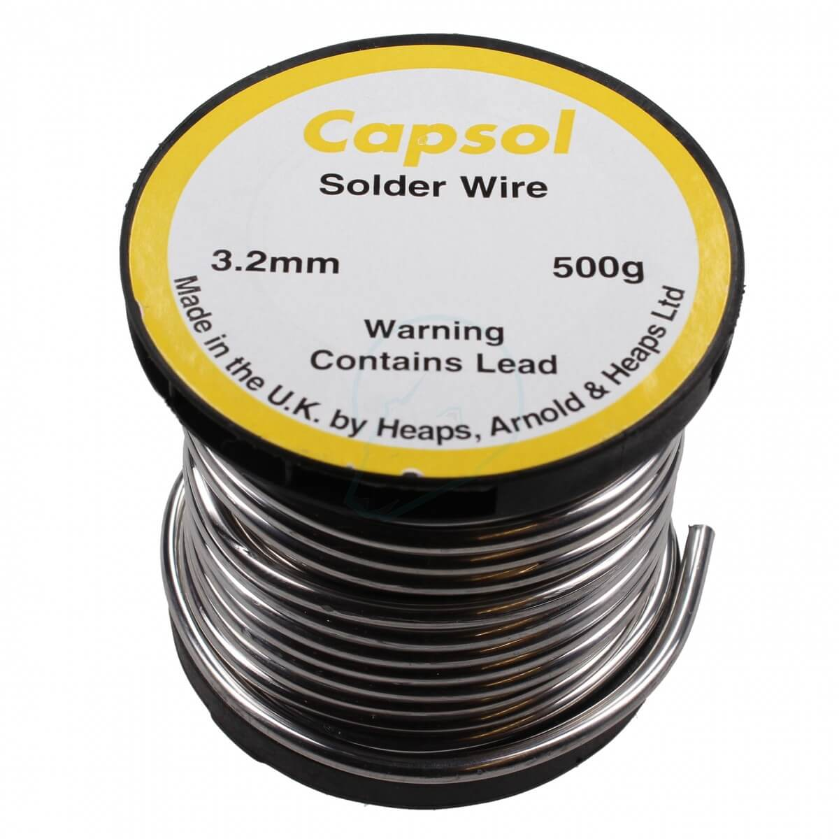500g Roll of Solder Wire 3.2mm - for Soldering Pipework - Lead Soldering Electrical Wiring on