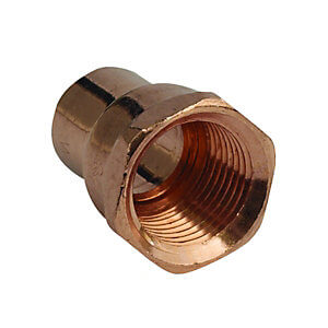 Copper Tee T  End Feed fittings BS864 EN1254-1 WRAS Approves 15mm 22mm 28mm