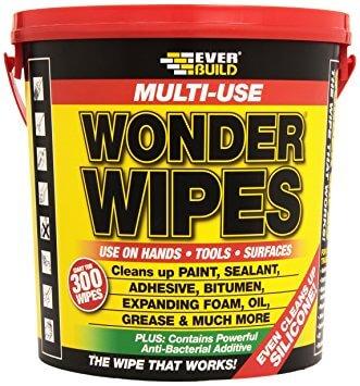 Everbuild Multi purpose Wonder Wipes Tub in 100 & 300-1