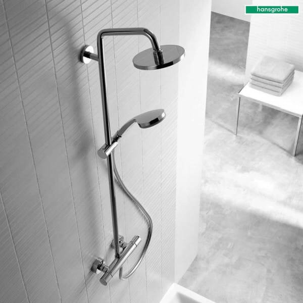 Hansgrohe Croma 160 Mixer Shower System In Chrome