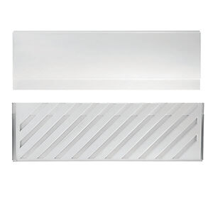 Reinforced Bath Front Panel Acrylic White 1700mm
