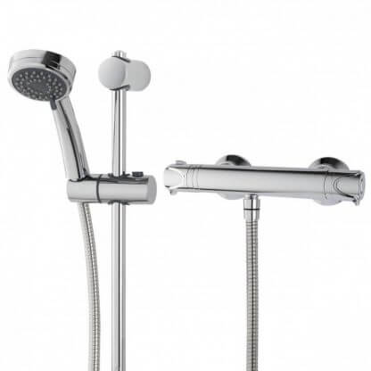 Triton Dene Cool Touch Thermostatic Mixer Shower In Chrome