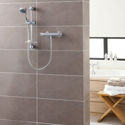 Triton Dene Cool Touch Thermostatic Mixer Shower In Chrome UNDETHBMCT
