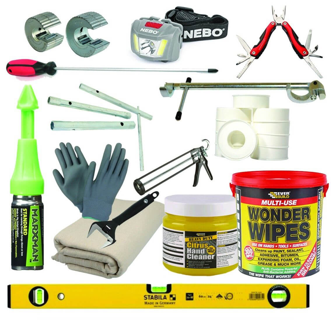 Professional Plumbers / Hnady Man Tool Kit